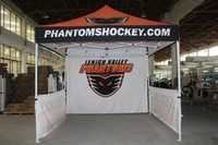 Free Shipping 3X3m Advertising Pop Up Tents Print your logo canopy and a full wall and two half sides walls