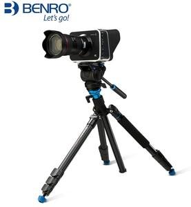 Image 3 - Benro 三脚 A2883FS4/A1883FS2C 写真カメラビデオヘッド一脚油圧ダンピングヘッド