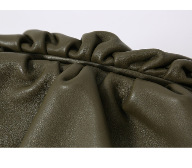 Pillow Bag Leather Cluthes 2