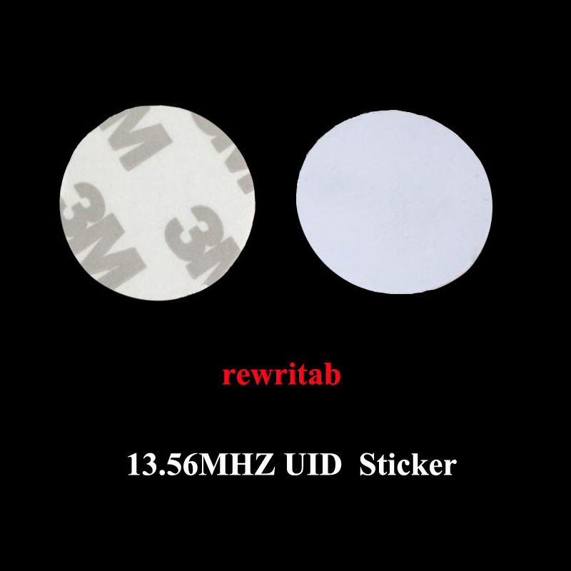 (10 Pcs/lot) Uid Stickers Changeable Rfid Tags Block 0 Writable 13.56mhz Proximity Cards Pvc Key Rewritable Copy Clone