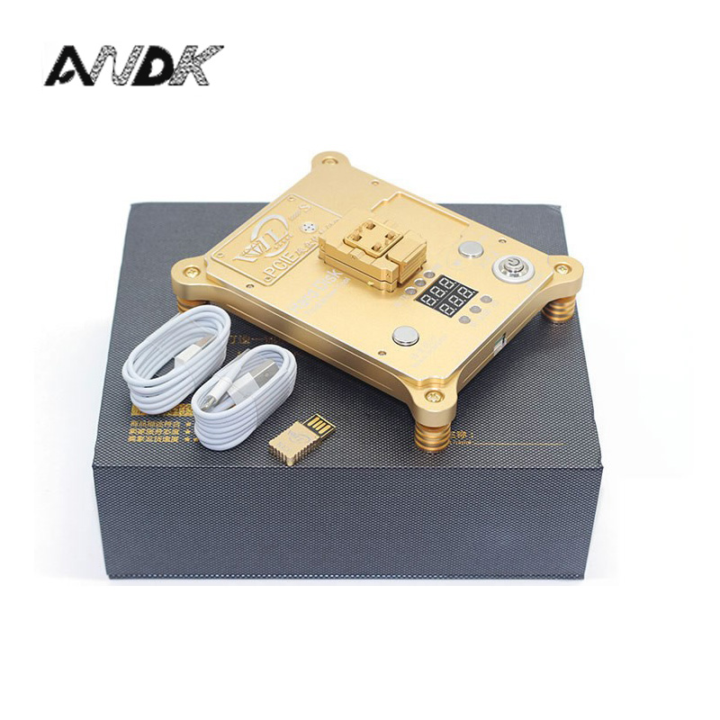 PCIE iphone7 7P 6s 6sp ipad pro NAND Flash iphone Repair HDD Serial Number SN Tool Test Fixture Expand the nand capacity 2017 version pcie nand flash chip programmer tool kits machine fix repair hdd ic serial number for iphone 5se 6s 7 plus ipad pro