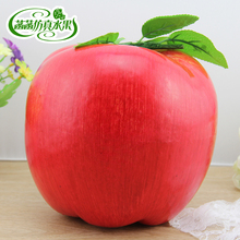 Artificial fruit oversize foam fake fruit great for apple toy all red props 20inch 47cm oversize standing original fake kaws pinocchio medicom toy kaws factory product fast shipping