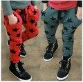 Sl-121, Осень дети девушки для мальчиков, Спортивные брюки, Свободного покроя брюки, Звезда