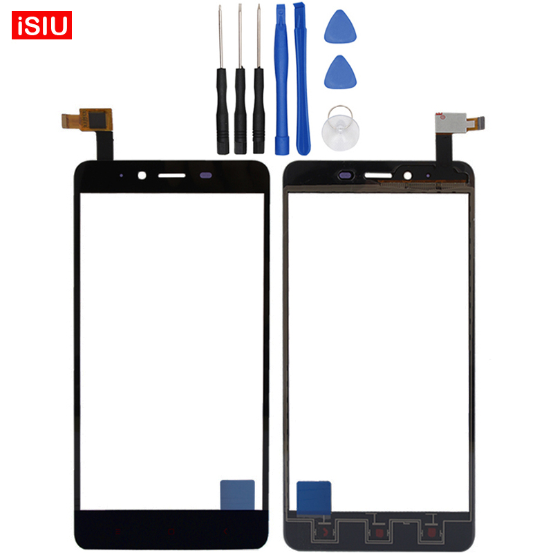 5.5 inch For Xiaomi Hongmi Note 2 / Red Rice Note 2 / Redmi Note 2 LCD Note2 Touch Screen Lens Glass Outer Front Panel + Tools