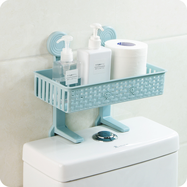 Multifunction Bathroom kitchens Storage rack Toilet paper Shampoo ...
