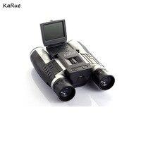 Karue Профессиональный 12x32 HD бинокулярный телескоп цифровой Камера 5mp CMOS Сенсор 2.0 ''tft дисплей HD 1080 P телескоп Камера DHL
