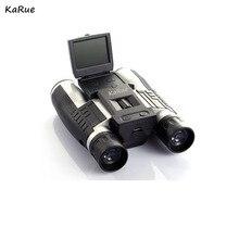 "Wholesale prices karue Professional 12×32 HD Binocular Telescope DigitalCamera 5MP CMOS Sensor 2.0"" TFT display  hd 1080p telescope camera DHL"