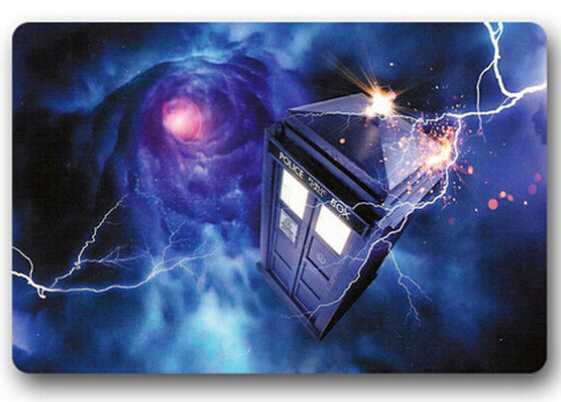 Hot Sale Customized Tardis Dr Who Doormat Home Deco Bedroom Carpet Classic Durable Bathroom Mats #DMN 0085