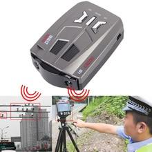Nueva V9 de Velocidad Del Coche Detector Rusia/Inglés Voz de Alerta De Advertencia de Coches auto Detector de Alerta de Voz Electrónica Perro Anti Detectores de Radar
