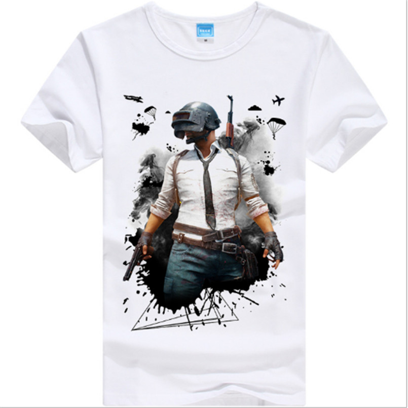 PUBG/PLAYER UNKNOWN'S BATTLEGROUNDS t shirt game fans gift boy friend gift short sleeve PUBG T SHIRTS hot game concept tee