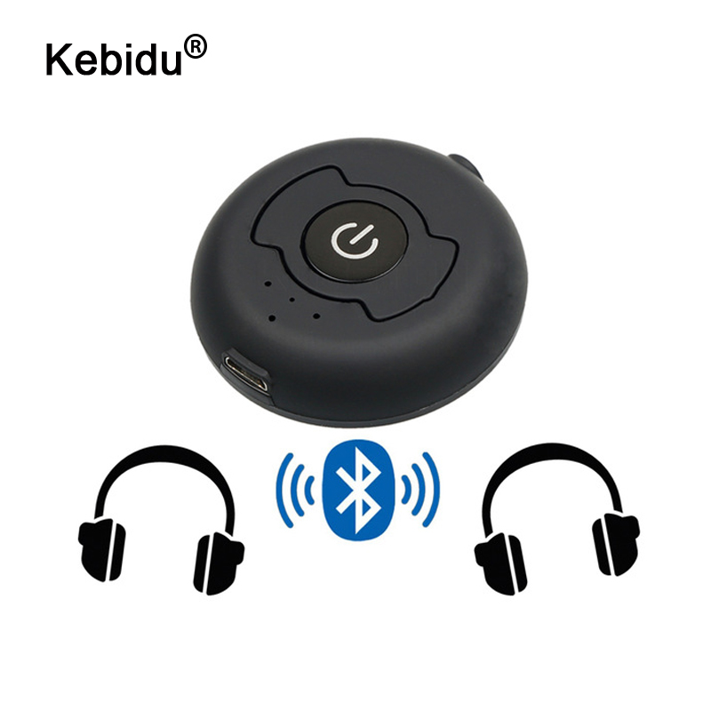 kebidu Multi-point Wireless Audio Bluetooth Transmitter For V4.0 Music Stereo Dongle Adapter TV Smart PC MP3