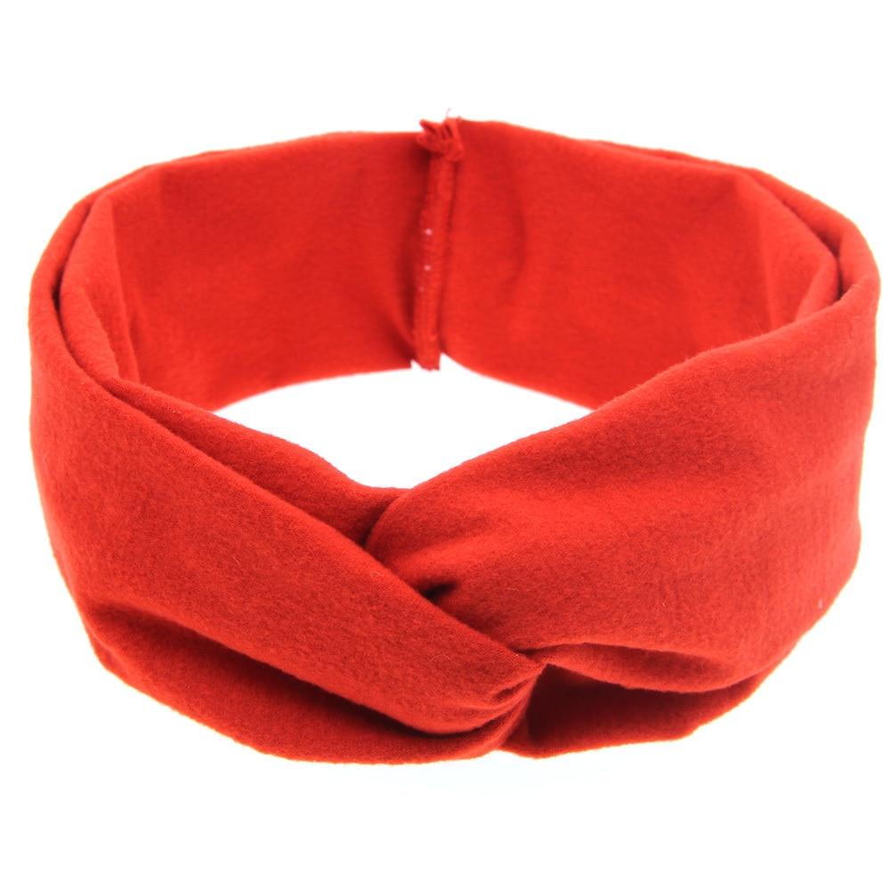 TWDVS pasgeboren knoop elastische ring hoofdband kinderen katoenen - Kledingaccessoires - Foto 2