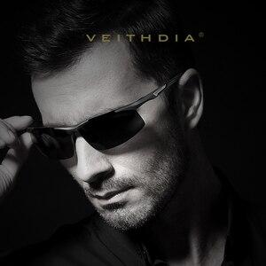 Image 3 - VEITHDIA Aluminum Magnesium Mens  Sunglasses Polarized Men Coating Mirror Glasses oculos Male Eyewear Accessories For Men 6562