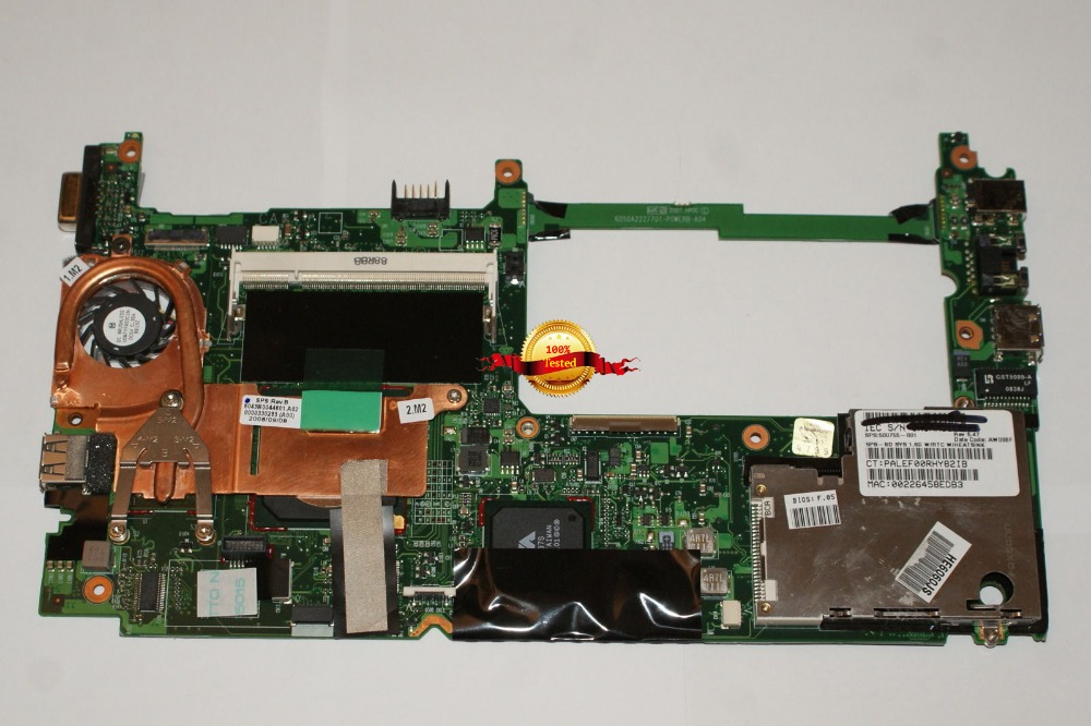Top quality , For HP 500755-001 MINI 2133 2140 2150 1.6GHz Laptop Motherboard  Top quality , For HP 500755-001 MINI 2133 2140 2150 1.6GHz Laptop Motherboard