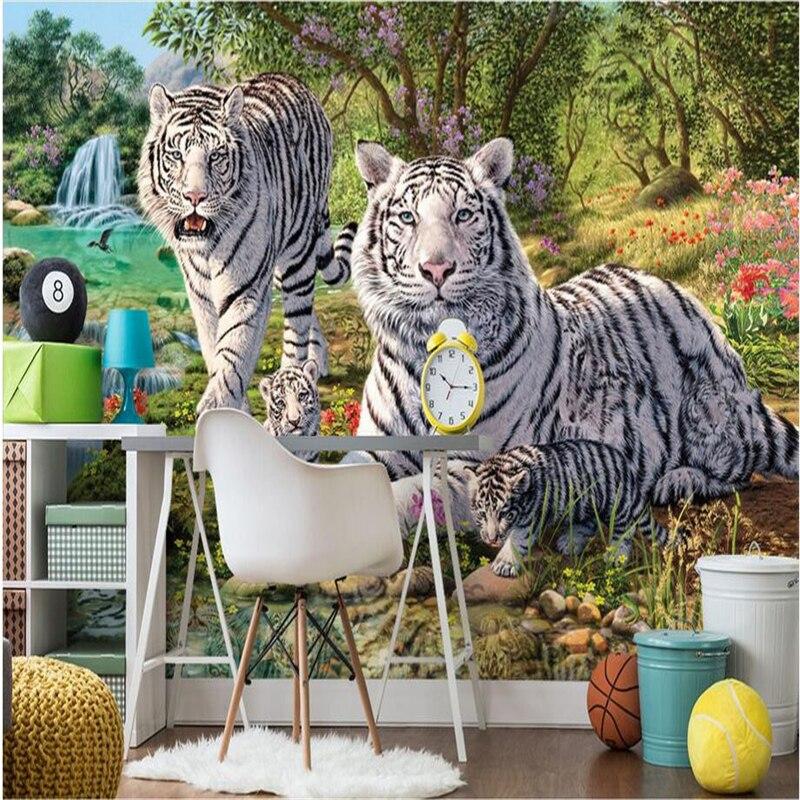 tigre bianca carta da parati-acquista a poco prezzo tigre bianca ... - Carta Da Parati Bianca Da Dipingere