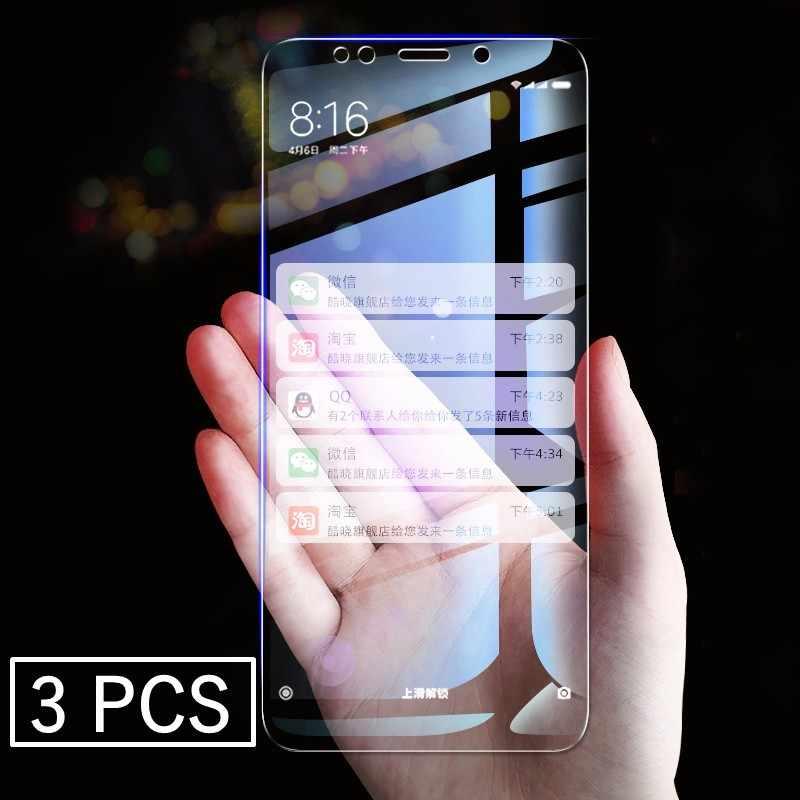 3 шт./лот закаленное Стекло Экран Защитная крышка для Xiaomi Redmi K20 6 6A S2 Y2 5A 5 Plus Note 6 5 Pro 4 4X взрывозащищенное стекло