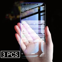 3pcs/Lot Tempered Glass Screen Protector For Xiaomi Redmi K20 6 6A S2 Y2 5A 5 Plus Note 6 5 Pro 4 4X Explosion-Proof(China)