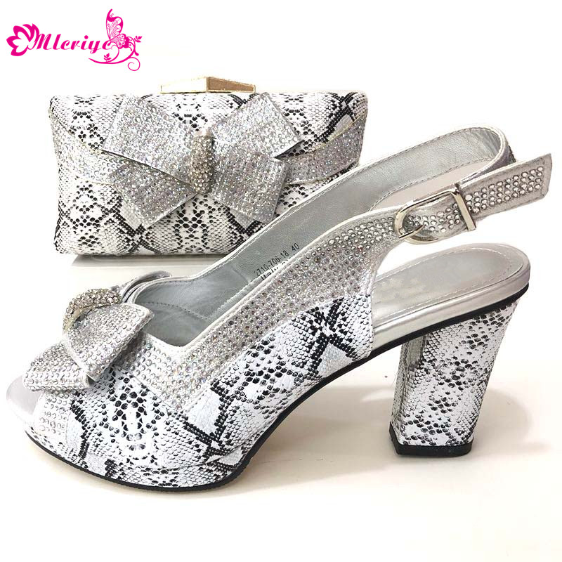 New Arrival Italian Shoes and Bags To Match Shoes with Bag Set Nigerian Women Wedding Shoes and Bag Set Party Shoe with Bag Set цена