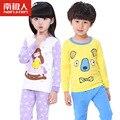Марка пижамы хлопка малышей весна девушки пижамы для мальчиков pijamas детей Пижамы ребенка ночное пиёамы enfant Детские комплекты белья