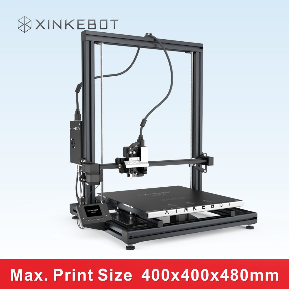 XINKEBOT Latest Product ORCA2 Cygnus Large Format 3D Printer Heated Bed 1kg PLA Great for Printing