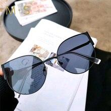 MS, женские роскошные классические очки, женские солнцезащитные очки, бренд, дизайнерские солнцезащитные очки, солнцезащитные очки «кошачий глаз», Мода UV400