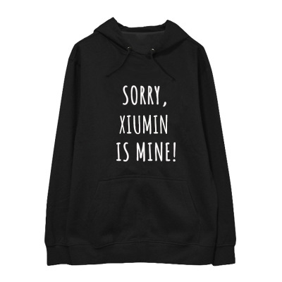 Kpop home New EXO Same Praise Sweatershirt Harajuku style Loose Long sleeved Hoodie Man and Womens Winter Hoody with hat