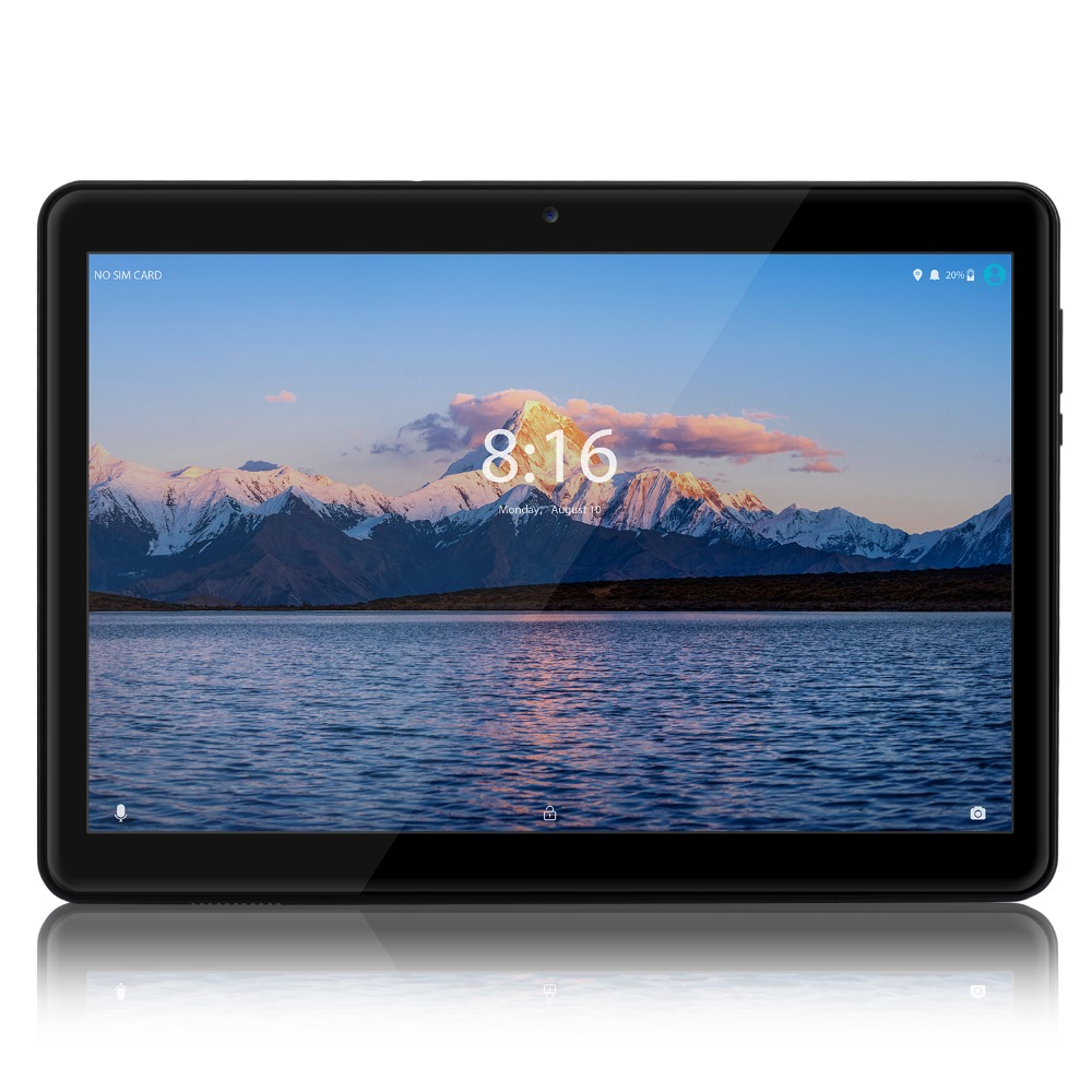 LNMBBS Tablet 10.1 4G LTE Android 8.1 Google 2.5D HD 2G 32G ROM MTK6737 SIM