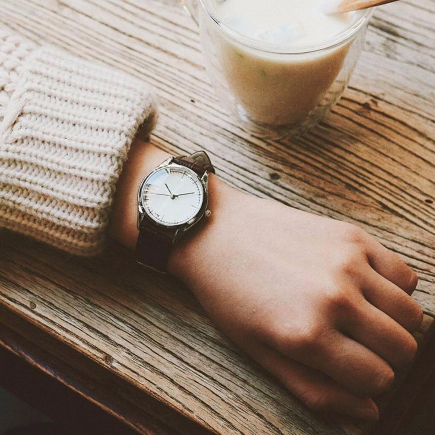 Retro Small Dial Watch Women Simple Desingn Thin Belt Casual Watches Womens Vogue PU Leather Analog Quartz Wrist Watch Reloj #N retro small dial watch women simple desingn thin belt casual watches womens vogue pu leather analog quartz wrist watch reloj n