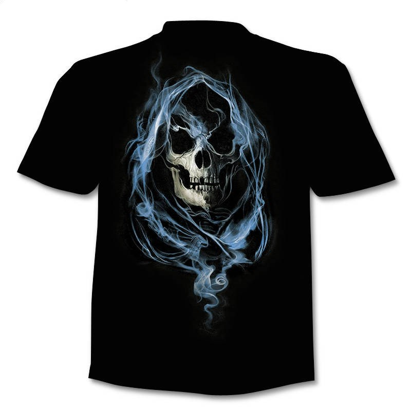 Drop Ship Summer NewFunny skull 3d T Shirt Summer Hipster Short Sleeve Tee Tops Men/Women Anime T-Shirts Homme Short sleeve tops 21