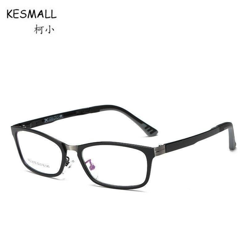KESMALL 2018 New Korean Prescription Glasses Men Women Fashion TR90 Gaming Eyewear Frame With Myopia Lens Gafas Graduadas XN437P new hot fashion unisex women men hipster vintage retro classic half frame glasses clear lens nerd eyewear 4 colors
