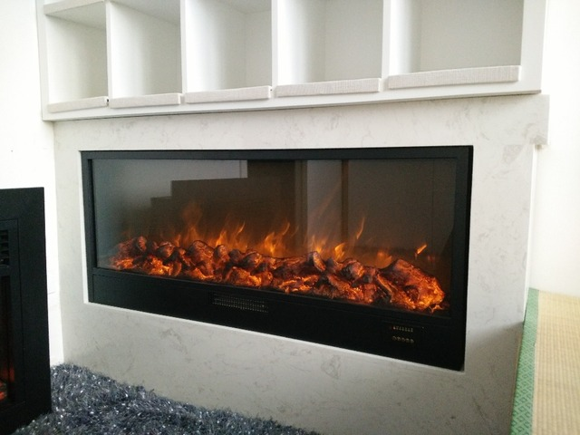Fake Electric Led Fireplace In Electric Fireplaces From Home