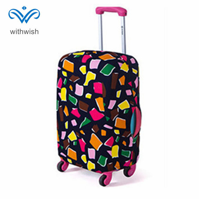 """Fashion Suitcase Luggages Protective Cover Travel Trolley Case Dustproof Protector S/M/L/XL Apply to 18"""" ~ 32"""" Traveling Cases"""