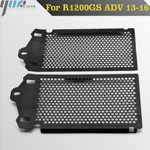 For R1200GS Motorbike Stainless Steel Motorcycles Radiator Grill Guard Cooler Cover for BMW R 1200 GS  ADV 2013 2014 2015 2016
