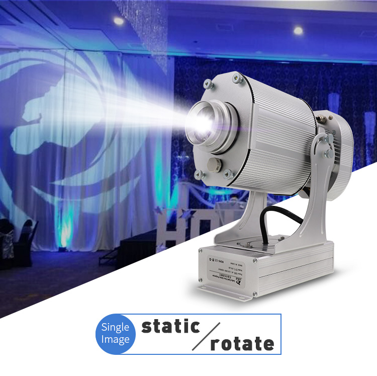 2middle size projector static or rotate