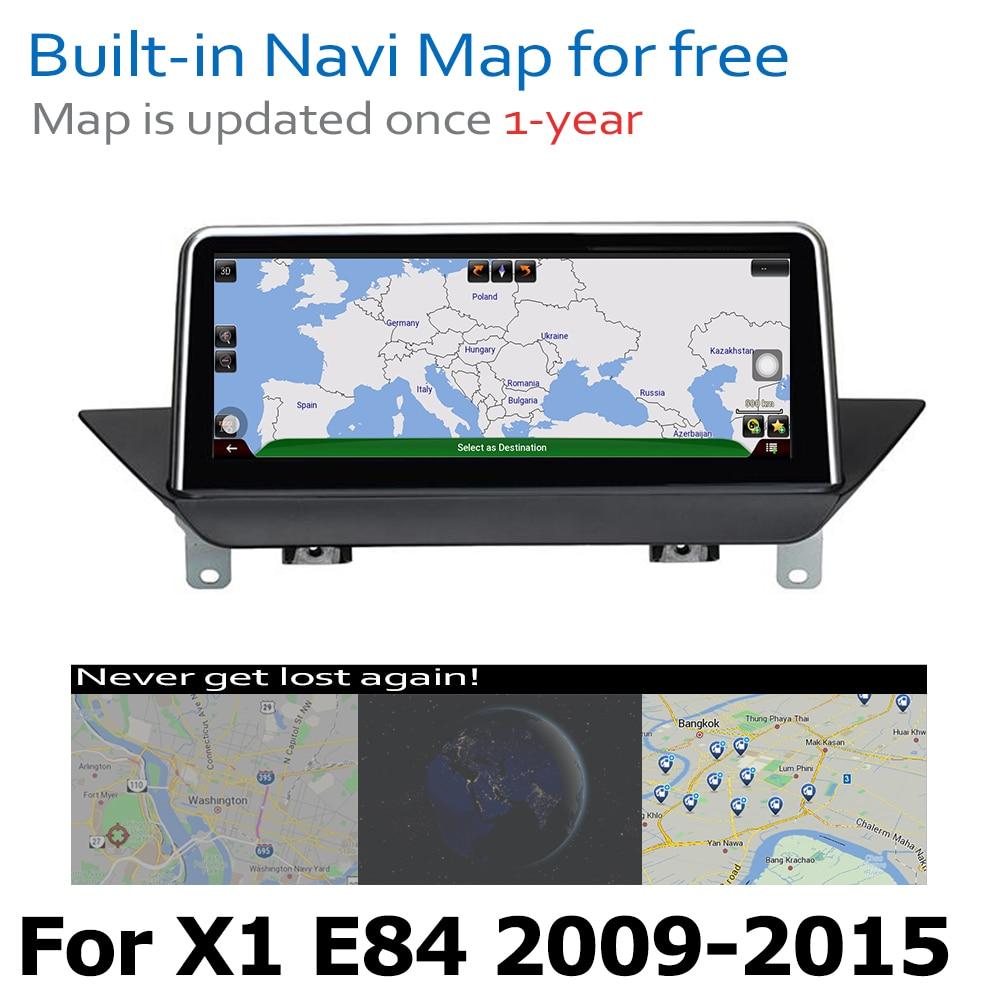 מערכת ניווט GPS DVD לרכב נגן עבור BMW X1 E84 2009 ~ 2015 מערכת אנדרואיד 8.0 עד Autoradio ניווט GPS (5)