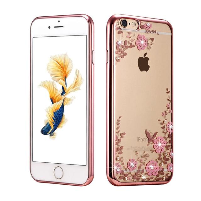 custodia iphone 7 flower