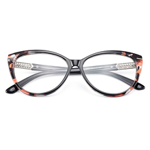 Gmei Optical Urltra-Light TR90 Cat Eye Style Women Optical Glasses Frames Optic Glasses Frame For Women Myopia Spectacles M1697