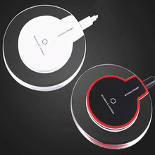 Crystal Q7 Wireless Charger Qi Charging Stand Non-contact Charge Pad For SmartPhone