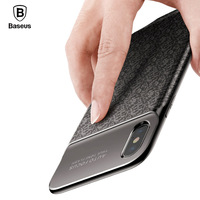 Baseus 3500mAh Power Bank Charging Case For IPhone X Ultra Slim Battery Charger Case For IPhone