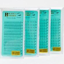 12 рядов русский объемные ресницы ручной ресницы расширение предварительно сделанные вентиляторы Высокое качество 3D 4D 5D 6D Бесплатная доставка