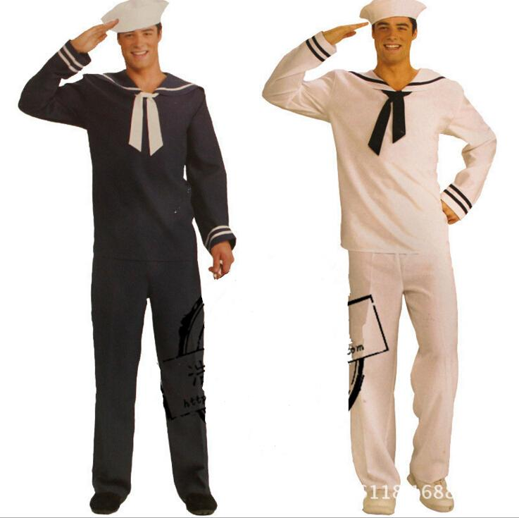 free shipping zy368 men's sailor costume navy sailor  hat