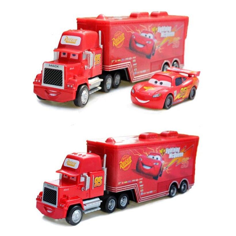 Disney N° Juguete Coche Mac Camión 1 Suelto 95 3 Cars Coches Metal Stock Aleación Nuevo Rey En 55 Pixar El Diecast De SGUVLpMqz