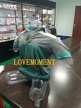 PVC Big M Transparent Realistic Inflatable Sex Dolls Male Masturbator Stockings Legs Vagina Anal Masturbation Sex Toys For Men