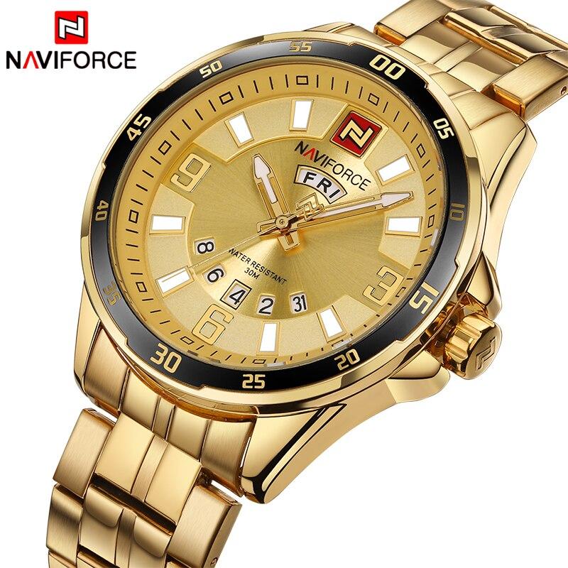 Top Brand NAVIFORCE Luxury Men Fashion Sports Watches Men's