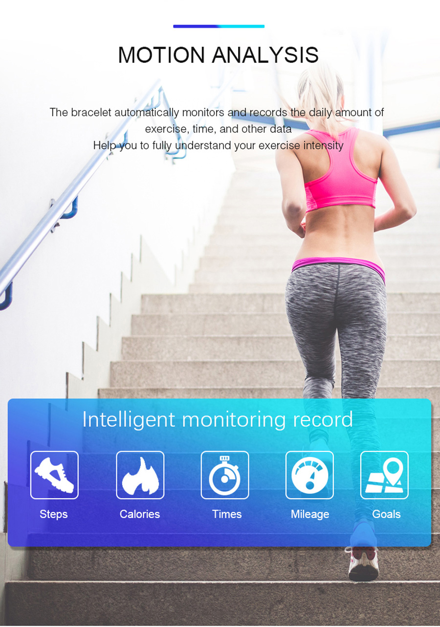 Volemer K88 plus Smart Band Blood Pressure Heart Rate Monitor Bracelet Color Display IP68 Waterproof Fitness Tracker Wristband (7)