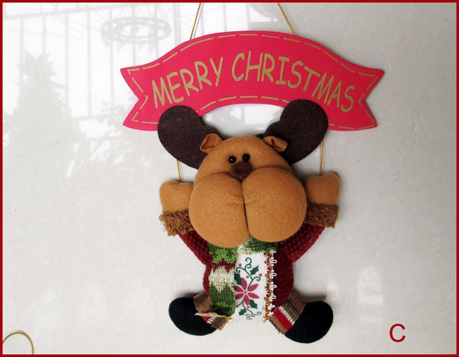 QY36173ABC-3-Set-of-3-Christmas-Decoration-Door-Decor-Hanger-MERRY-CHRISTMAS-Xmas-Tree-Ornament-Home-Decoration-Holiday-Gifts-Santa-Claus-Snowman-Reindeer-11-inch-Length