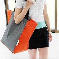 Waterproof Supermarket Shopping High Capacity Foldable Shopping Bag High Strength Environmental Protection Travel Bags