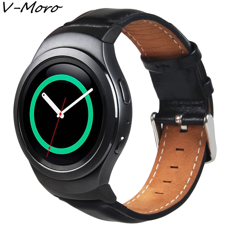 V-MORO Genuine Leather Watch Band For Gear S2 Classic Band  Replacement Bracelet For Samsung Gear S2 Classic R732 Watch lord foresta umbra moro 50x50