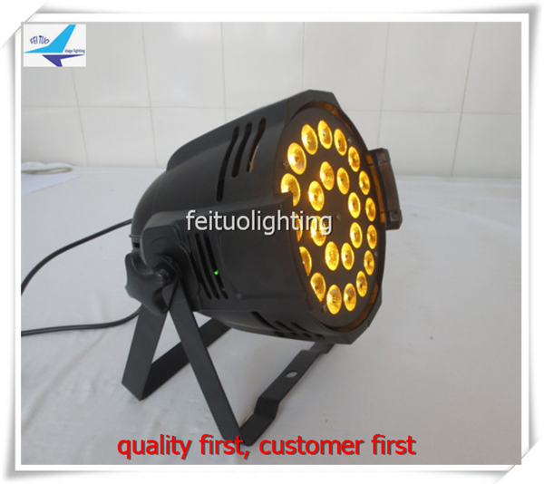 free shipping 2pcs/lot Super Bright Par Light LED 24X18W RGBWA UV 6IN1 Par64 Can DMX Stage Lighting for Disco Wedding Show Party