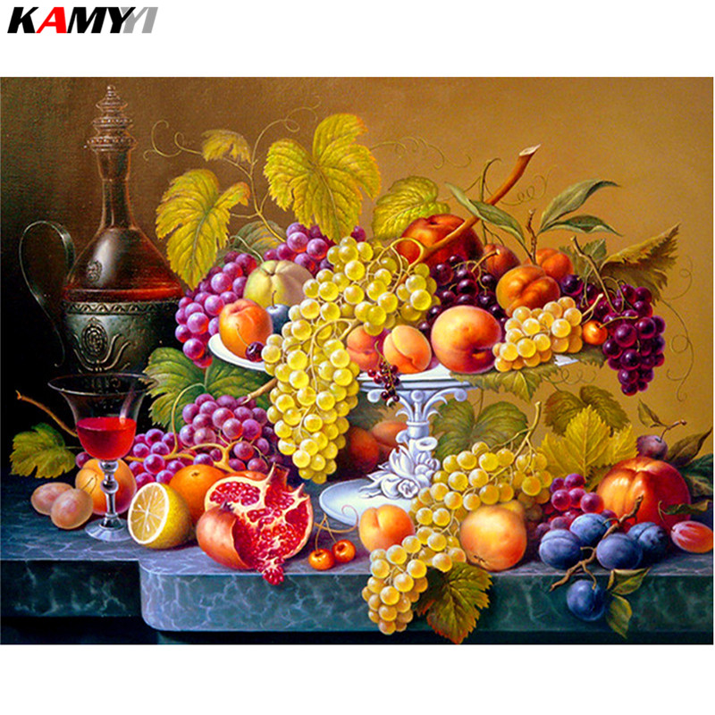 Huacan-Fruit-Diamond-Embroidery-Kitchen-Wall-Decor-Rubik-s-Cube-Square-Diamond-Painting-Crystal-Mosaic-Picture